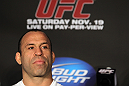 SAN FRANCISCO, CA - NOVEMBER 17:  Wanderlei Silva attends the UFC 139 pre-fight press conference at the Fort Mason Center on November 17, 2011 in San Francisco, California.  (Photo by Josh Hedges/Zuffa LLC/Zuffa LLC via Getty Images)