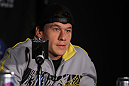 SAN FRANCISCO, CA - NOVEMBER 17:  Brian Bowles attends the UFC 139 pre-fight press conference at the Fort Mason Center on November 17, 2011 in San Francisco, California.  (Photo by Josh Hedges/Zuffa LLC/Zuffa LLC via Getty Images)
