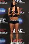 SAN JOSE, CA - NOVEMBER 18:  UFC Octagon Girl Arianny Celeste attends the UFC 139 Weigh In at the HP Pavilion on November 18, 2011 in San Jose, California.  (Photo by Josh Hedges/Zuffa LLC/Zuffa LLC via Getty Images)