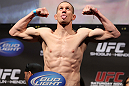 SAN JOSE, CA - NOVEMBER 18:  Seth Baczynski weighs in during the UFC 139 Weigh In at the HP Pavilion on November 18, 2011 in San Jose, California.  (Photo by Josh Hedges/Zuffa LLC/Zuffa LLC via Getty Images)
