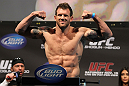 SAN JOSE, CA - NOVEMBER 18:  Ryan Bader weighs in during the UFC 139 Weigh In at the HP Pavilion on November 18, 2011 in San Jose, California.  (Photo by Josh Hedges/Zuffa LLC/Zuffa LLC via Getty Images)