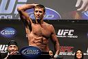 SAN JOSE, CA - NOVEMBER 18:  Stephan Bonnar weighs in during the UFC 139 Weigh In at the HP Pavilion on November 18, 2011 in San Jose, California.  (Photo by Josh Hedges/Zuffa LLC/Zuffa LLC via Getty Images)