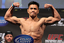 SAN JOSE, CA - NOVEMBER 18:  Cung Le weighs in during the UFC 139 Weigh In at the HP Pavilion on November 18, 2011 in San Jose, California.  (Photo by Josh Hedges/Zuffa LLC/Zuffa LLC via Getty Images)