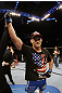 SAN JOSE, CA - NOVEMBER 19: Chris Weidman celebrates defeating Tom Lawlor during an UFC Middleweight bout at the HP Pavillion in San Jose, California on November 19, 2011 in San Jose, California.  (Photo by Josh Hedges/Zuffa LLC/Zuffa LLC via Getty Images)