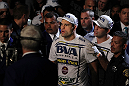 SAN JOSE, CA - NOVEMBER 19: Mauricio Rua walks towards the Octagon ring for his UFC Light Heavyweight bout with Dan Henderson at the HP Pavillion on November 19, 2011 in San Jose, California.  (Photo by Josh Hedges/Zuffa LLC/Zuffa LLC via Getty Images)