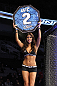 SAN JOSE, CA - NOVEMBER 19: UFC Octagon Girl Arianny Celeste introduces round two during the Brown/Baczynski UFC Welterweight bout at the HP Pavilion on November 19, 2011 in San Jose, California.  (Photo by Josh Hedges/Zuffa LLC/Zuffa LLC via Getty Images)