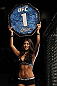 SAN JOSE, CA - NOVEMBER 19:  UFC Octagon Girl Arianny Celeste introduces round one during the Tibau/Anjos UFC Lightweight bout at the HP Pavillion in San Jose, California on November 19, 2011 in San Jose, California.  (Photo by Josh Hedges/Zuffa LLC/Zuffa LLC via Getty Images)