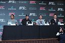 (L-R) Benson Henderson, Ryan Bader, Jake Shields and Yushin Okami