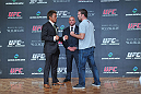 Yoshihiro Akiyama faces off with Jake Shields