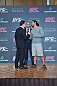 Frankie Edgar faces off with Benson Henderson