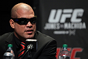 TORONTO, ON - DECEMBER 08:  Tito Ortiz attends the final UFC 140 pre-fight press conference at Bell Tiff Lightbox Cinema1 on December 8, 2011 in Toronto, Canada.  (Photo by Josh Hedges/Zuffa LLC/Zuffa LLC via Getty Images)
