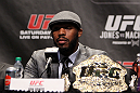 TORONTO, ON - DECEMBER 08:  UFC Light Heavyweight Champion Jon
