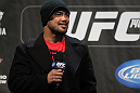 TORONTO, ON - DECEMBER 09:  UFC Middleweight contender Mark Munoz interacts with fans during a Q&amp;A session before the UFC 140 Official Weigh-in at the Air Canada Centre on December 9, 2011 in Toronto, Canada.  (Photo by Josh Hedges/Zuffa LLC/Zuffa LLC via Getty Images)