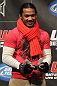 TORONTO, ON - DECEMBER 09:  UFC Lightweight contender Benson Henderson battles champion Frankie Edgar on the UFC Undisputed 3 videogame before the UFC 140 Official Weigh-in at the Air Canada Centre on December 9, 2011 in Toronto, Canada.  (Photo by Josh Hedges/Zuffa LLC/Zuffa LLC via Getty Images)