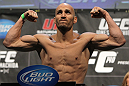TORONTO, ON - DECEMBER 09:  Rich Attonito weighs in during the UFC 140 Official Weigh-in at the Air Canada Centre on December 9, 2011 in Toronto, Canada.  (Photo by Josh Hedges/Zuffa LLC/Zuffa LLC via Getty Images)