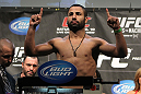TORONTO, ON - DECEMBER 09:  John Makdessi weighs in during the UFC 140 Official Weigh-in at the Air Canada Centre on December 9, 2011 in Toronto, Canada.  (Photo by Josh Hedges/Zuffa LLC/Zuffa LLC via Getty Images)