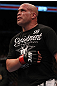 TORONTO, ON - DECEMBER 10:  Tito Ortiz exhibits the pain of a blow to the ribs after his TKO loss to Antonio Rogerio Nogueira during the UFC 140 event at Air Canada Centre on December 10, 2011 in Toronto, Ontario, Canada.  (Photo by Nick Laham/Zuffa LLC/Zuffa LLC via Getty Images)