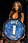 LAS VEGAS, NV - DECEMBER 30:  Octagon Girl Arianny Celeste prepares to introduce round one of the Gamburyan vs Nunes fight during the UFC 141 event at the MGM Grand Garden Arena on December 30, 2011 in Las Vegas, Nevada.  (Photo by Donald Miralle/Zuffa LLC/Zuffa LLC via Getty Images) *** Local Caption *** Arianny Celeste