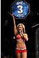 LAS VEGAS, NV - DECEMBER 30:  Octagon Girl Brittney Palmer introduces round three of the Hettes vs Phan fight during the UFC 141 event at the MGM Grand Garden Arena on December 30, 2011 in Las Vegas, Nevada.  (Photo by Josh Hedges/Zuffa LLC/Zuffa LLC via Getty Images) *** Local Caption *** Brittney Palmer