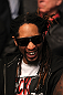 LAS VEGAS, NV - DECEMBER 30:  Lil Jon watching the fights during the UFC 141 event at the MGM Grand Garden Arena on December 30, 2011 in Las Vegas, Nevada.  (Photo by Josh Hedges/Zuffa LLC/Zuffa LLC via Getty Images) *** Local Caption *** Lil Jon
