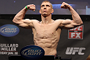 NASHVILLE, TN - JANUARY 19:  Eric Schafer weighs in during the UFC on FX official weigh in at Bridgestone Arena on January 19, 2012 in Nashville, Tennessee.  (Photo by Josh Hedges/Zuffa LLC/Zuffa LLC via Getty Images)