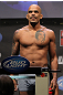 NASHVILLE, TN - JANUARY 19:  Jorge Rivera weighs in during the UFC on FX official weigh in at Bridgestone Arena on January 19, 2012 in Nashville, Tennessee.  (Photo by Josh Hedges/Zuffa LLC/Zuffa LLC via Getty Images)