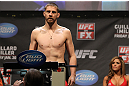 NASHVILLE, TN - JANUARY 19:  Duane Ludwig weighs in during the UFC on FX official weigh in at Bridgestone Arena on January 19, 2012 in Nashville, Tennessee.  (Photo by Josh Hedges/Zuffa LLC/Zuffa LLC via Getty Images)