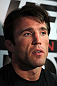 CHICAGO, IL - JANUARY 25:  Chael Sonnen answers questions from the media during the UFC on FOX open workouts at the Chicago Boxing Club on January 25, 2012 in Chicago, Illinois.  (Photo by Josh Hedges/Zuffa LLC/Zuffa LLC via Getty Images)