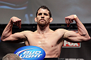 CHICAGO, IL - JANUARY 27:  Shane Roller weighs in during the UFC on FOX official weigh in at the Chicago Theatre on January 27, 2012 in Chicago, Illinois.  (Photo by Josh Hedges/Zuffa LLC/Zuffa LLC via Getty Images) *** Local Caption *** Shane Roller