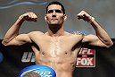 CHICAGO, IL - JANUARY 27:  Chris Weidman weighs in during the UFC on FOX official weigh in at the Chicago Theatre on January 27, 2012 in Chicago, Illinois.  (Photo by Josh Hedges/Zuffa LLC/Zuffa LLC via Getty Images) *** Local Caption *** Chris Weidman