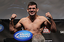 CHICAGO, IL - JANUARY 27:  Demian Maia weighs in during the UFC on FOX official weigh in at the Chicago Theatre on January 27, 2012 in Chicago, Illinois.  (Photo by Josh Hedges/Zuffa LLC/Zuffa LLC via Getty Images) *** Local Caption *** Demian Maia