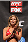 CHICAGO, IL - JANUARY 27:  UFC Octagon Girl Brittney Palmer attends the UFC on FOX official weigh in at the Chicago Theatre on January 27, 2012 in Chicago, Illinois.  (Photo by Josh Hedges/Zuffa LLC/Zuffa LLC via Getty Images) *** Local Caption *** Brittney Palmer