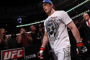 CHICAGO, IL - JANUARY 28:  Chael Sonnen enters the arena before his bout against Michael Bisping during the UFC on FOX event at United Center on January 28, 2012 in Chicago, Illinois.  (Photo by Nick Laham/Zuffa LLC/Zuffa LLC via Getty Images) *** Local Caption *** Chael Sonnen