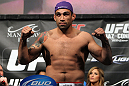 LAS VEGAS, NV - FEBRUARY 03:  Fabricio Werdum weighs in during the UFC 143 official weigh in at Mandalay Bay Events Center on February 3, 2012 in Las Vegas, Nevada.|2:55:8  (Photo by Josh Hedges/Zuffa LLC/Zuffa LLC via Getty Images) *** Local Caption *** Fabricio Werdum
