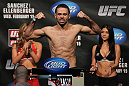 OMAHA, NE - FEBRUARY 14:  Vagner Rocha weighs in during the UFC on FUEL TV weigh in event at Omaha Civic Auditorium on February 14, 2012 in Omaha, Nebraska.  (Photo by Josh Hedges/Zuffa LLC/Zuffa LLC via Getty Images) *** Local Caption *** Vagner Rocha