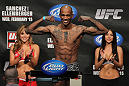 OMAHA, NE - FEBRUARY 14:  Walel Watson weighs in during the UFC on FUEL TV weigh in event at Omaha Civic Auditorium on February 14, 2012 in Omaha, Nebraska.  (Photo by Josh Hedges/Zuffa LLC/Zuffa LLC via Getty Images) *** Local Caption *** Walel Watson