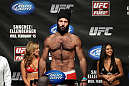 OMAHA, NE - FEBRUARY 14:  Dave Herman weighs in during the UFC on FUEL TV weigh in event at Omaha Civic Auditorium on February 14, 2012 in Omaha, Nebraska.  (Photo by Josh Hedges/Zuffa LLC/Zuffa LLC via Getty Images) *** Local Caption *** Dave Herman