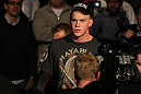 OMAHA, NE - FEBRUARY 15:  Stefan Struve enters the arena before his bout against Dave Herman during the UFC on FUEL TV event at Omaha Civic Auditorium on February 15, 2012 in Omaha, Nebraska.  (Photo by Josh Hedges/Zuffa LLC/Zuffa LLC via Getty Images) *** Local Caption *** Stefan Struve