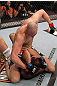 OMAHA, NE - FEBRUARY 15:  <<enter caption here>> during the UFC on FUEL TV event at Omaha Civic Auditorium on February 15, 2012 in Omaha, Nebraska.  (Photo by Josh Hedges/Zuffa LLC/Zuffa LLC via Getty Images) *** Local Caption *** Stefan Struve; Dave Herman