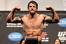 SAITAMA, JAPAN - FEBRUARY 25:  Ryan Bader weighs in during the official UFC 144 weigh in at the Saitama Super Arena on February 25, 2012 in Saitama, Japan.  (Photo by Josh Hedges/Zuffa LLC/Zuffa LLC via Getty Images) *** Local Caption *** Ryan Bader
