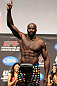 SAITAMA, JAPAN - FEBRUARY 25:  Cheick Kongo weighs in during the official UFC 144 weigh in at the Saitama Super Arena on February 25, 2012 in Saitama, Japan.  (Photo by Josh Hedges/Zuffa LLC/Zuffa LLC via Getty Images) *** Local Caption *** Cheick Kongo