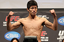 SAITAMA, JAPAN - FEBRUARY 25:  Hatsu Hioki weighs in during the official UFC 144 weigh in at the Saitama Super Arena on February 25, 2012 in Saitama, Japan.  (Photo by Josh Hedges/Zuffa LLC/Zuffa LLC via Getty Images) *** Local Caption *** Hatsu Hioki