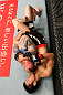 SAITAMA, JAPAN - FEBRUARY 26:  (R-L) Hatsu Hioki attempts to secure a submission hold against Bart Palaszewski during the UFC 144 event at Saitama Super Arena on February 26, 2012 in Saitama, Japan.  (Photo by Al Bello/Zuffa LLC/Zuffa LLC via Getty Images) *** Local Caption *** Hatsu Hioki; Bart Palaszewski