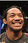 SAITAMA, JAPAN - FEBRUARY 26:  Benson Henderson reacts after defeating Frankie Edgar to win the UFC Lightweight Championship during the UFC 144 event at Saitama Super Arena on February 26, 2012 in Saitama, Japan.  (Photo by Josh Hedges/Zuffa LLC/Zuffa LLC via Getty Images) *** Local Caption *** Benson Henderson