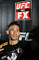SYDNEY, AUSTRALIA - FEBRUARY 28:  Yasuhiro Urushitani answers questions from the media during the UFC on FX open workouts at the Star Casino on February 28, 2012 in Sydney, Australia.  (Photo by Josh Hedges/Zuffa LLC/Zuffa LLC via Getty Images) *** Local Caption *** Yasuhiro Urushitani