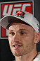 SYDNEY, AUSTRALIA - FEBRUARY 28:  Martin Kampmann answers questions from the media during the UFC on FX open workouts at the Star Casino on February 28, 2012 in Sydney, Australia.  (Photo by Josh Hedges/Zuffa LLC/Zuffa LLC via Getty Images) *** Local Caption *** Martin Kampmann