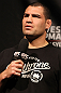 SYDNEY, AUSTRALIA - MARCH 02:  Former UFC Heavyweight Champion Cain Velasquez interacts with fans during a Q&amp;A session before the UFC on FX official weigh in at Allphones Arena on March 2, 2012 in Sydney, Australia.  (Photo by Josh Hedges/Zuffa LLC/Zuffa LLC via Getty Images) *** Local Caption *** Cain Velasquez