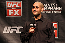SYDNEY, AUSTRALIA - MARCH 02:  UFC host Jon Anik interacts with fans during a Q&amp;A session before the UFC on FX official weigh in at Allphones Arena on March 2, 2012 in Sydney, Australia.  (Photo by Josh Hedges/Zuffa LLC/Zuffa LLC via Getty Images) *** Local Caption *** Jon Anik