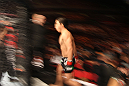SYDNEY, AUSTRALIA - MARCH 03:  Joseph Benavidez enters the Octagon before his bout against Yasuhiro Urushitani during the UFC on FX event at Allphones Arena on March 3, 2012 in Sydney, Australia.  (Photo by Josh Hedges/Zuffa LLC/Zuffa LLC via Getty Images) *** Local Caption *** Joseph Benavidez