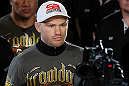 SYDNEY, AUSTRALIA - MARCH 03:  Martin Kampmann enters the arena before his welterweight bout against Thiago Alves during the UFC on FX event at Allphones Arena on March 3, 2012 in Sydney, Australia.  (Photo by Josh Hedges/Zuffa LLC/Zuffa LLC via Getty Images) *** Local Caption *** Martin Kampmann